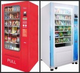 Drink and Snack Vending Machine with GSM/GPRS Remote LV-205A Good Price