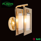 Russia Popular Glass Wall Lamp/Lighting for Bedroom