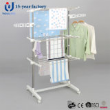Stainless Steel Three Layer Coat Drying Rack
