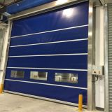 High Speed PVC Rolling Door with CE Certification (HF-1104)