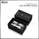 Rba Atomizer 3.8ml Pyrex Glass Tube Wismec Amor Plus Tank