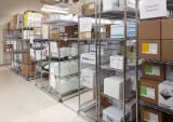 Drug Store Warehouse Shelving with 5 Layers