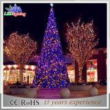 Outdoor Square Holiday PVC Giant LED Christmas Tree LED Light
