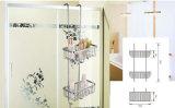 Brass Bathroom Shower Caddy Shelves -Chrome