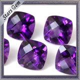 Briliant Shining Cushion Cut 5X5mm Beautiful Purple Natural Amethyst