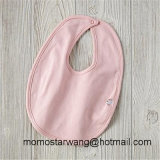100% Knitted Cotton Solid Color Baby Bib