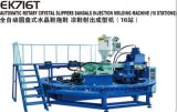 Single Color PVC Crystal Injection Molding Slipper and Sandals Shoe Machine