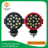 Auto LED Work Light 51W for Car Fog Machine Boat Lights for Fishing