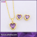 Wuzhou Foxi Wholesale Fancy Necklace Earring Jewelry Sets