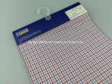 100% Cotton Yarn Dyed Check Textile Fabric-Lz6986