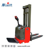 Full Electric Battery Operated Electric Pallet Stacker AC Motor Curtis Control