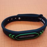 Waterproof 13.56MHz ISO14443A MIFARE Classic EV1 RFID Silicone bracelet for fitness