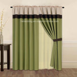 Hot Design Rod Pocket Curtain Panel with Valance