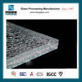 China Supplier Broken Design Ice Cracked Glass Table Top for Home Furniture