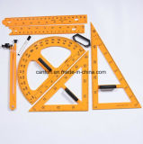 Plastic Ruler, Protractor, Set Square, Compass Stationery for School/Teacher/Student