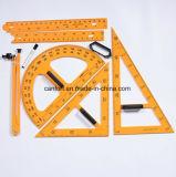 School Supplies Plastic Ruler, Protractor, Set Square for School/Teacher/Student