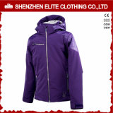 New Arrival Womens Clothing Winter Windproof Jacket Purple (ELTWBJI-21)