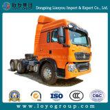 Sinotruk HOWO T5g 6X4 Tractor Truck 10-Wheel Trailer Tractor