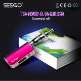 Seego Wholesale Kit Stainless Steel Grinder E Liquid Vaporizer Ecig