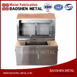 Sheet Metal Fabrication Stainless Steel Platform Metal Cabinet Machinery Parts Superior Processing