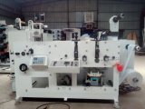 Zb-320-1 Color Flexo Printing Machine with Varnish and 2 Rotary Die Cutting