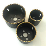 Titanium Coated Bi-Metal Variable Pitch Hole Saw for Cutting Metal