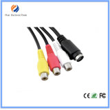 1.5m 5FT Changzhou Factory Price VGA to 3RCA Component Video Cable