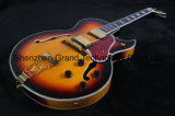 Jazz Electric Guitar Tobacco with Gold Hardware (TJ-218)