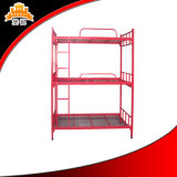 Factory Supplier Strong Steel Tripple Bed