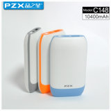 Model Pzx-C148 Factory Direct Sale 10400mAh Power Bank for Mobile Phones