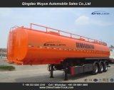 Single Tire Large Volume Tri Axles 45000L Fuel Tanker