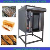 Industrial Gas Electric Diesel 8 Trays Rotary Oven (MH-X8D)
