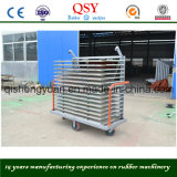Trolley with Many Plates for Transporting Goods