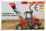 Everun CE Approved Farm Machinery 1.2ton Small Wheel Loader
