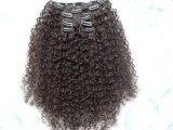 100% Indian Remy Curly Clip in Human Hair Extension