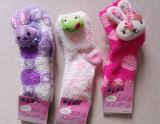 Woman Fuzzy Socks with Animal Head