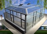 Garden Green House/Glass Green House/ Conservatory/Sun Room/Gazebo