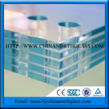 CE Standard Double Layers or Triple Layers PVB Laminated Glass