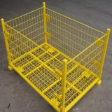 Folding Warehouse Storage Cage in Store (Manufacturers)