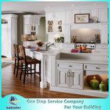 2017 New Design China Morden Modular Soild Wood Kitchen Cabinet