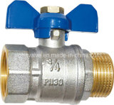 Brass Full Port Valve with Butterfly Handle (a. 0110)