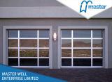 Transparent Sectional Commercial Door, Temperated Glass Garage Door. Frosted Glass Garage Door