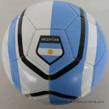 World Cup Soccer Ball, PVC Leather Machine-Sewn Soccerball