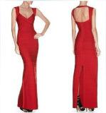 Halter Bridesmaid Froor Length Dress