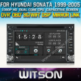 Witson Car DVD Player with GPS for Hyundai Sonata (W2-D8900Y)