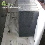 Exterior Stone Garden Black Porphyry Floor Paving Tile