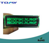 16X2 Va Liquid Crystal Module with Green LED Backlight