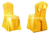 Hotel&Banquet&Wedding Jacquard Chair Cover with Back Tie (WLCC001)