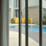 Gray, Black Color Plisse Insect Screen 18*16mesh 15*17mesh