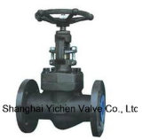 Forged Steel Through Way Flange China Globe Valve (J41Y)